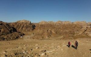 Wadi Tibn, Wadi Sabra, Petra, Jordanie 3