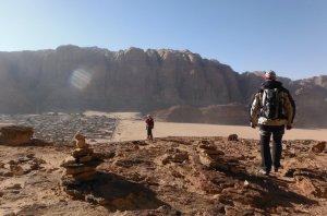 Khazareh Canyon, Jebel Um Ishrin, Wadi Rum, Jordanie 24