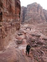 Wadi Tibn, Wadi Sabra, Petra, Jordanie 29
