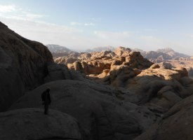 Orange Sunshine, Burdah Rock, Wadi Rum, Jordanie 28