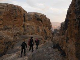 Wadi Tibn, Wadi Sabra, Petra, Jordanie 32