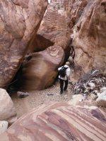 Petra via Wadi Muaysra As Sharkiyya, Petra, Jordanie 6
