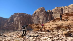 Jebel Mayeen, Wadi Rum, Jordanie 5