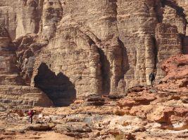 Jebel Mayeen, Wadi Rum, Jordanie 8