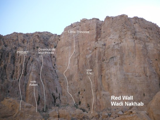 Voies du Red Wall et secteur gauche