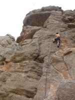 3Somes climbing, Ras Al Khaimah, Émirats 9