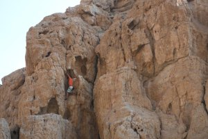 Roadside sport climbing, Ras Al Khaimah 3