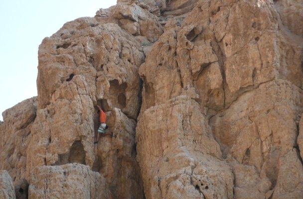 Roadside sport climbing, Ras Al Khaimah 2