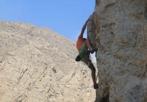 Roadside sport climbing, Ras Al Khaimah, Émirats 10