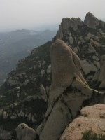 Esquena del Diable a la Roca dels Onze, Montserrat, Espagne 14