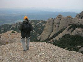 Esquena del Diable a la Roca dels Onze, Montserrat, Espagne 15