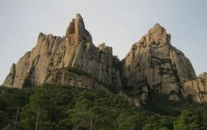 Esquena del Diable a la Roca dels Onze, Montserrat, Espagne 1
