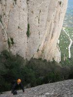 Esquena del Diable a la Roca dels Onze, Montserrat, Espagne 7