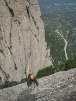 Esquena del Diable a la Roca dels Onze, Montserrat, Espagne 8