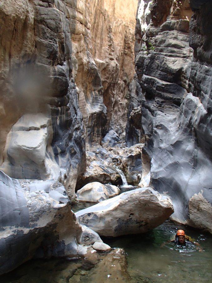 Snake Gorge Canyon, Jebel Akhdar 14