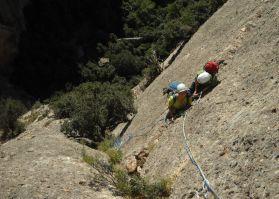 Bego-Miguel-Kush a Can Jorba, Montserrat, Espagne 11