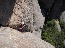 Gomez-Xalmet a la Prenyada, Montserrat, Espagne 11