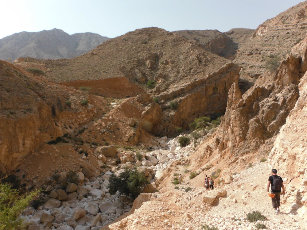 Wadi Ta'ab, Hajar Oriental 3
