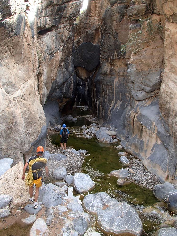 Snake Gorge Canyon, Jebel Akhdar 3