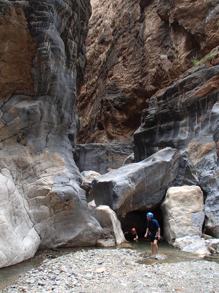 Snake Gorge Canyon, Jebel Akhdar 21