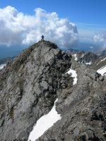 Pico Posets por la Cresta Espadas, Benasque, Aragon, Espagne 20