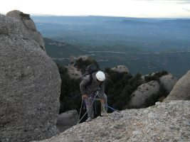Via Iglesias-Casanovas a la Bessona Inferior, Montserrat, Espagne 22