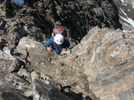 Pico Posets por la Cresta Espadas, Benasque, Aragon, Espagne 22
