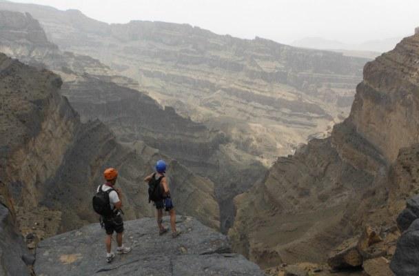 Ferrata du Jebel Shams, Jebel Akhdar 2