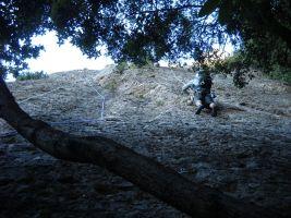 Escabroni Escapullini a la Miranda de Can Jorba, Montserrat, Espagne 3