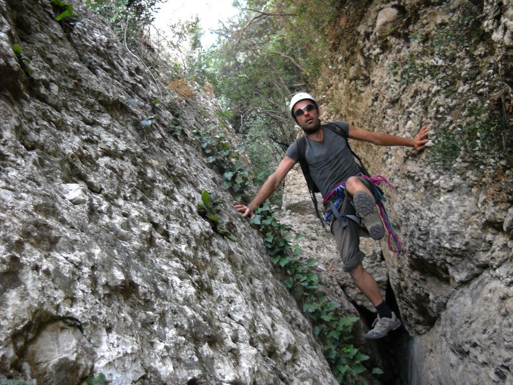 Barranco Canal Roja, Montserrat 6