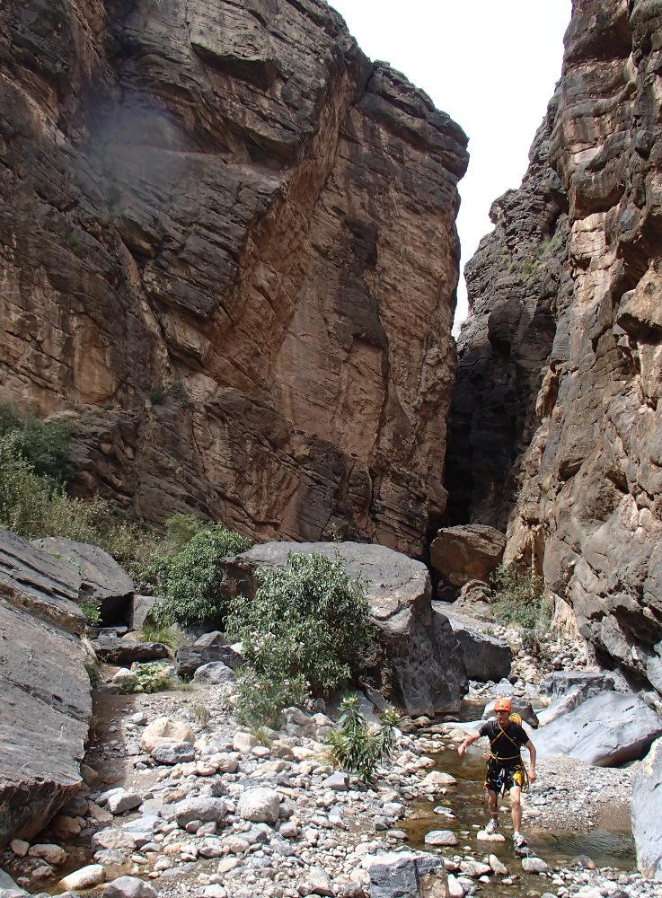 Snake Gorge Canyon, Jebel Akhdar 6