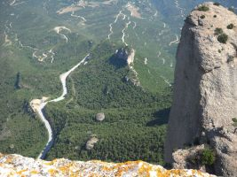 Aitor a l'Arbret, Agulles, Montserrat, Espagne 9