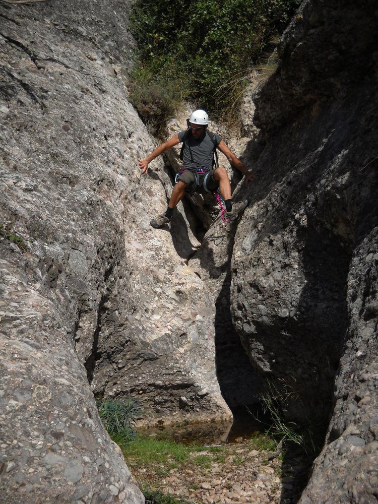 Barranco Canal Roja, Montserrat 9