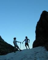 Pica de l'Estats per el coll dels Guins de l'Ase, Tavascan, Catalunya, Espagne 7