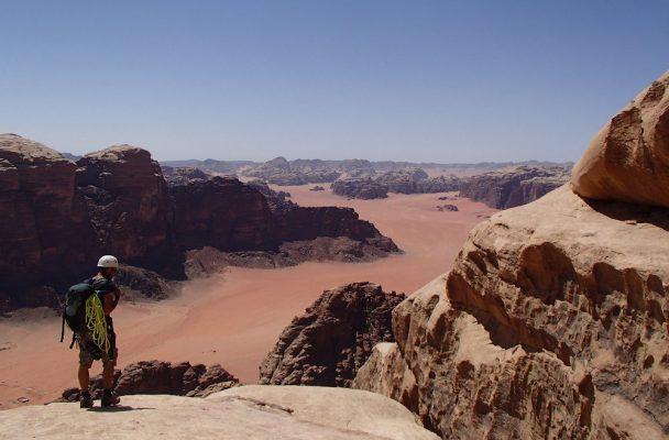 Hammad's Route, Jebel Rum, Jordanie 2
