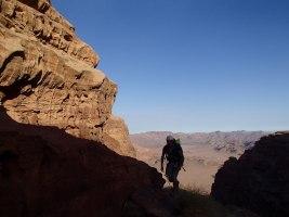 Sabbah's Route, Jebel Rum, Jordanie 20