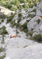 Mac Gregor a su Pesar al Roc d'En Sola, Perles, Espagne 11