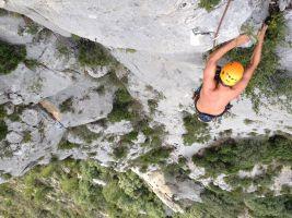 Mac Gregor a su Pesar al Roc d'En Sola, Perles, Espagne 13