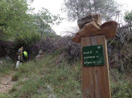 Mac Gregor a su Pesar al Roc d'En Sola, Perles, Espagne 2