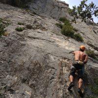 Mac Gregor a su Pesar al Roc d'En Sola, Perles, Espagne 5
