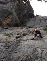 Mac Gregor a su Pesar al Roc d'En Sola, Perles, Espagne 6