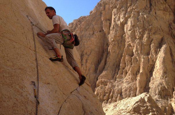 5 à 7 sur le Fer à Repasser, wadi Naqab, Émirats 2