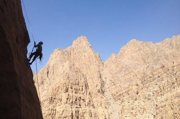 Hell Rock, Wadi Naqab, Émirats 2