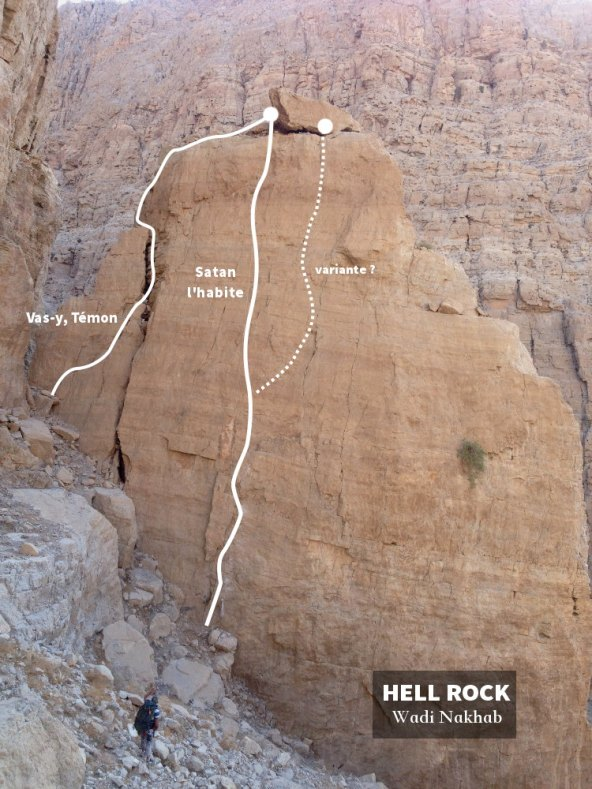 topo de Hell Rock