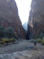 Le vent l'emportera, Snake Canyon, Wadi Bani Awf, Bilad Seet, Oman 1