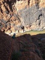 Le vent l'emportera, Snake Canyon, Wadi Bani Awf, Bilad Seet, Oman 4
