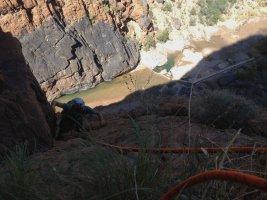Le vent l'emportera, Snake Canyon, Wadi Bani Awf, Bilad Seet, Oman 6