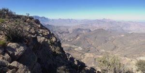 La crête de l'indien, Sharaf Al Alamein, Al Hamra, Oman 11