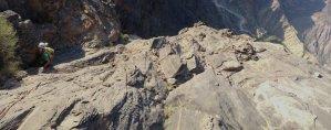 Le vent l'emportera, Snake Canyon, Wadi Bani Awf, Bilad Seet, Oman 17