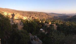 La crête de l'indien, Sharaf Al Alamein, Al Hamra, Oman 21